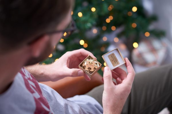 gift for him missing piece mini token gift