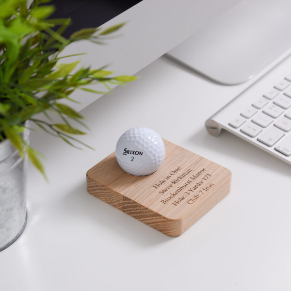 personalised golf ball holder