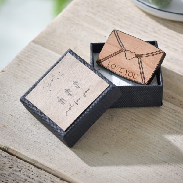 secret message love letter personalised token gift