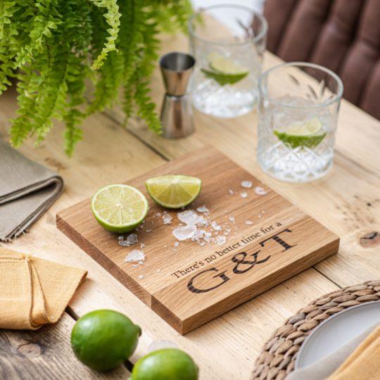 G&T chopping board