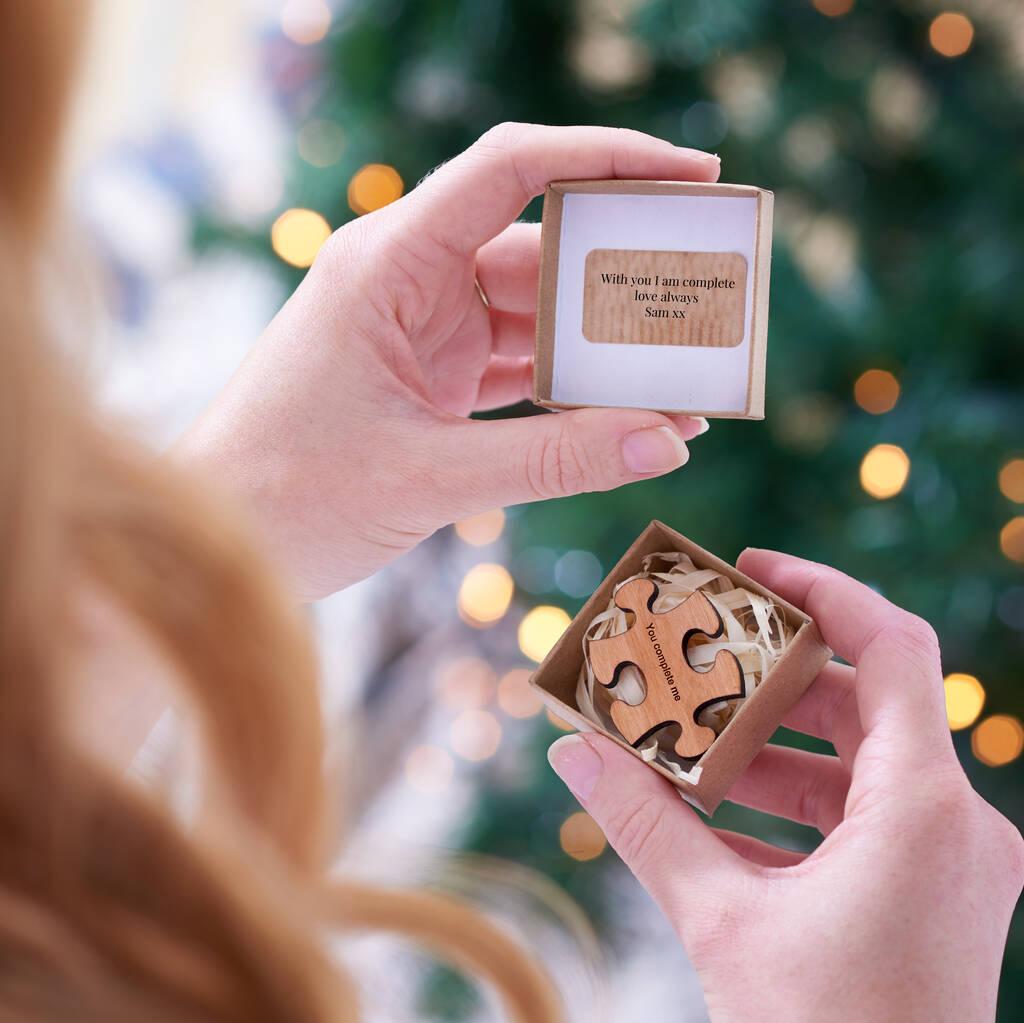 Wife Girlfriend Christmas Gift Personalised Token – Edge ...
