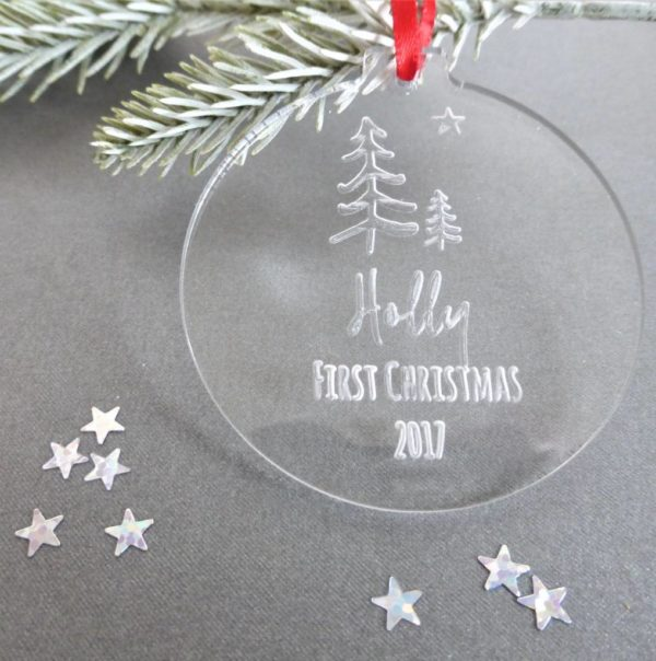 original_personalised-first-christmas-winter-woodland-bauble