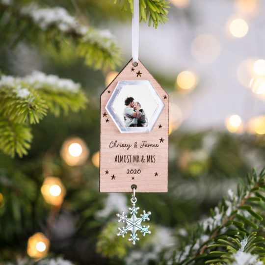 Almost Mr & Mrs Christmas Decoration