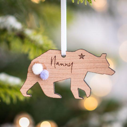 Polar Bear christmas decoration